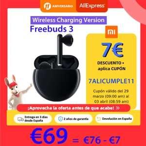 TWS Huawei FreeBuds 3 - Desde España | PLAZA