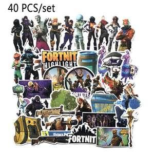 40 Pegatinas FORTNITE