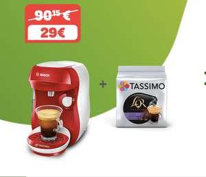 Cafetera Tassimo + paquete de café.