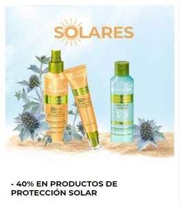 -40% de descuento en protección solar