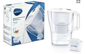 BRITA Aluna blanca - Jarra de Agua Filtrada con 1 cartucho 2,4L
