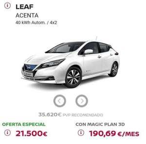 Nissan Leaf Acenta por 21500€