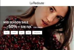 MID SEASOS SALE ¡-50% dto + SIN IVA! Moda, accesorios, deco... La Redoute