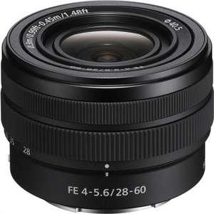 Sony FE 28-60mm f/4-5.6 (Caja blanca)