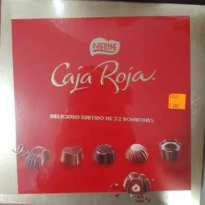 Bombones caja roja en Spar Badajoz