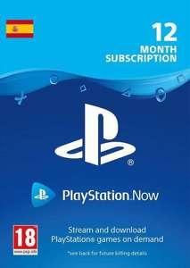 12 meses de suscripción a PSN PLAYSTATION NOW