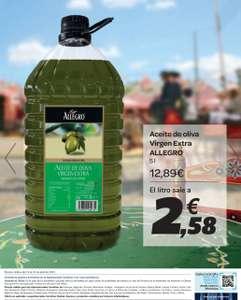 Aceite de oliva virgen extra Allegro 5L