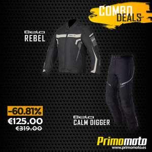 Oferta de Combo - Chaqueta Bela Rebel Rider y pantalón Calm Digger