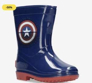 Botas de agua Capitán América