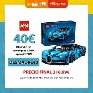 LEGO Technic Bugatti Chiron Set de Construcción Coche Deportivo (42083)