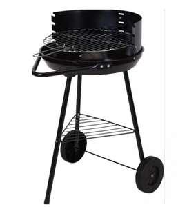 Barbacoa Carbon Negra con ruedas (envío gratis solo hoy)