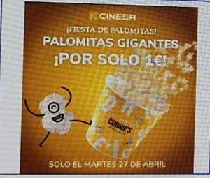Palomitas 1 euro