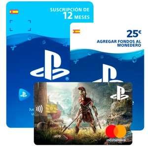 12 meses de PS Now + 25€ saldo GRATIS con Tarjeta Playstation