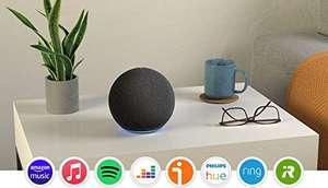 Echo (4.ª generación)   Sonido de alta calidad, controlador de Hogar digital integrado y Alexa   Antracita
