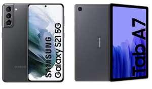 Samsung Galaxy S21 5G + Galaxy Tab A7 32GB [+150€ extras -mínimo- de reembolso con tu antiguo móvil]