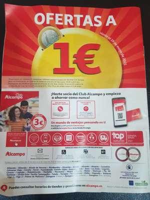 Ofertas a 1 euro alcampo hasta el 19 de mayo 2021 (A partir del 29 de Abril)