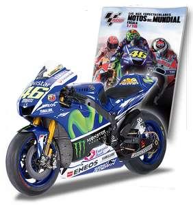 La moto de Valentino Rossi Yamaha YZR-M1(2015) Planeta de agostini