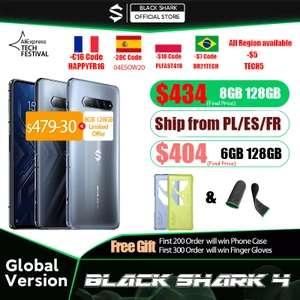 Black Shark 4 5G 8GB/128GB - Desde España