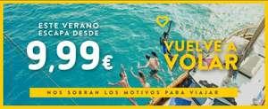 Vuelven los vuelos Vueling desde 10€