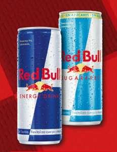 Red Bull 250ml. El normal y el sin azúcar