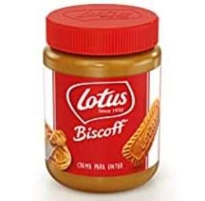 8 tarros de 400g de crema de untar Lotus Biscoff - 3,2kg