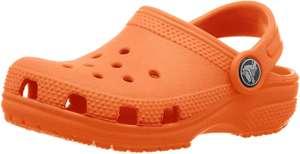 Crocs niños naranja