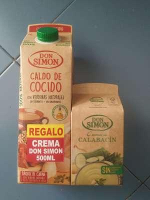 SUPECO Caldo y crema gratis Don Simón