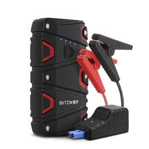 BlitzWolf® BW-JS1 800A 12000mAh Arrancador portátil de emergencia para automóvil
