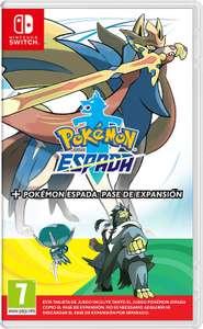 Pokemon Espada o Escudo + Pase de expansión