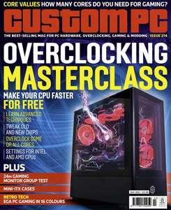 Gratis el Número 214 de la revista Custom PC [Inglés]