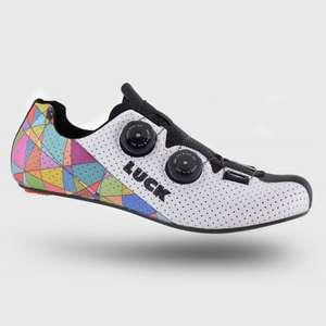 Zapatillas de ciclismo de carretera con doble boa y suela de carbono