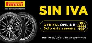 SIN IVA neumáticos Pirelli
