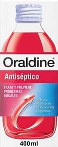 Oraldine Antiséptico con Doble Poder Antibacterial - 400 ml
