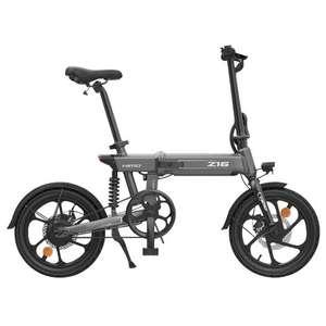 HIMO Bicicleta eléctrica plegable Z16 25km/h 250W (Desde España)
