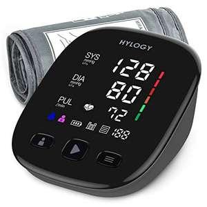 HYLOGY Tensiómetro de Brazo, Monitor de Presión Arterial Digital Automatico