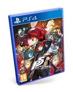 Persona 5 Royal PS4 (Precio al tramitar)