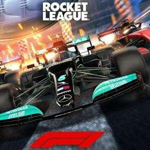 Rocket League, GRATIS el letrero del jugador Formula 1