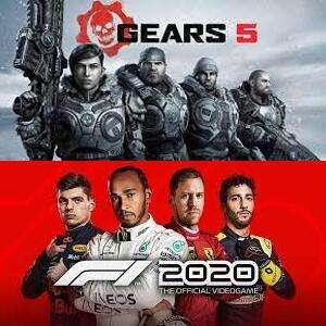 Juega GRATIS Gears 5 y F1 2020 (XBOX One, Serie X|S, PC)