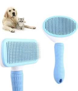 2 cepillos para mascotas Autolimpiante