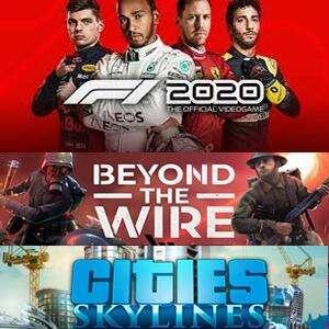 Juega GRATIS F1 2020, Surviving Mars, Cities: Skylines, Northgard, Beyond The Wire y Stellaris [STEAM, fin de semana]