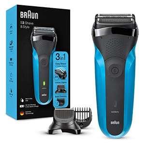 Afeitadora eléctrica para barba Braun Series 3 Shave & Style