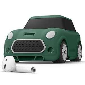elago Mini Car Coche Funda con Mosquetón Compatible con AirPods 2 & 1