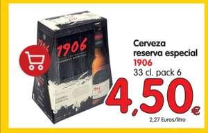 pack 6 cervezas 1906 en Alimerka