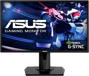 "ASUS VG248QG - Monitor Gaming de 24"" (Full HD, 165 Hz, 0.5 ms MPRT, Extreme Low Motion Blur, Adaptive-sync, FreeSync) negro"