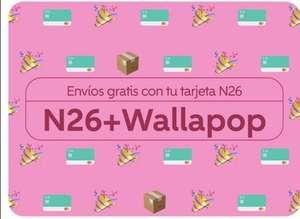 Wallapop 3 Envíos Gratis pagando con la tarjeta N26