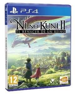 PS4: PS4 Ni No Kuni II: El Renacer de un Reino (juego físico) por sólo 4,99€