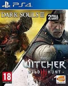 2 en 1: Dark Souls III y The Witcher III (PS4) por 10€ cada uno (Xtralife o CEX)