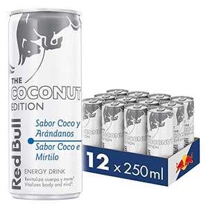 Red Bull Coco y Arándanos 12 latas de 250 ml total 3000 ml