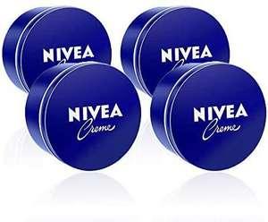 NIVEA Crema Hidratante para Manos, Cara y Cuerpo - 4 x 400 ml