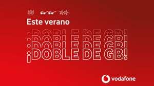 Vodafone duplica los gigas en el verano (20, 24, 40 y 70 GB)
